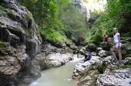 Гуамское ущелье - Каменномостский