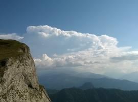 Панорамы с г. Большой Тхач