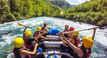 Рафтинг по горной реке Белой