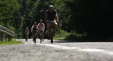 Путешествие на велосипедах.